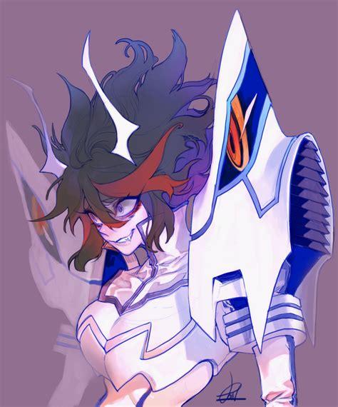 demon ryuko appears kill la kill   meme