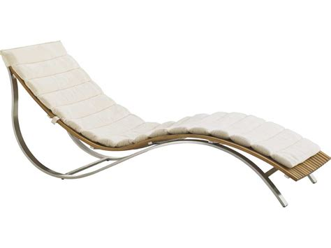 chaise cagne chic bahama outdoor tres chic steel teak chaise lounge