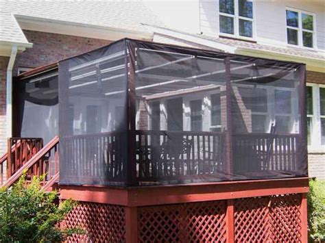pergola screens pergola curtains insects shade