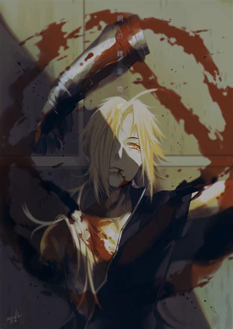 edward elric fullmetal alchemist zerochan anime image