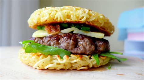 culinary cuisine the food craze ramen burger siew cooks