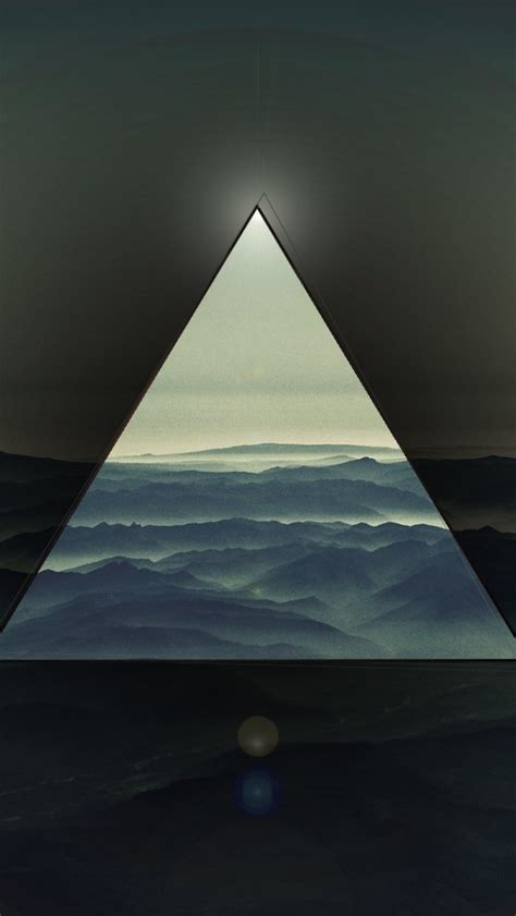 triangle iphone wallpaper gallery