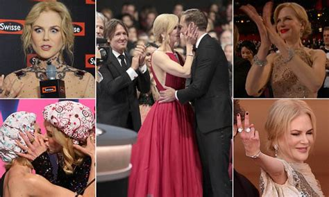 Nicole Kidman kisses her co-star in front of her husband ...