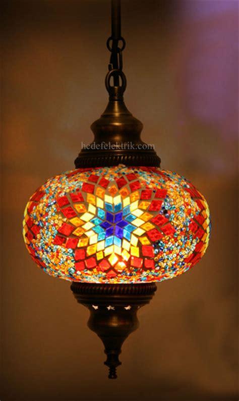 turkish style mosaic pendant lamp  cm mediterranean