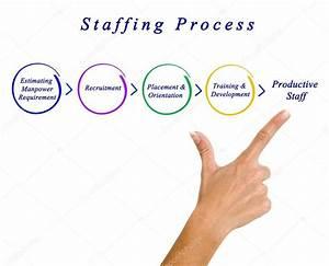 Diagram Of Staffing Process  U2014 Stock Photo  U00a9 Vaeenma  103450722