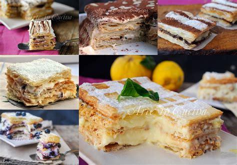 ricette di cucina semplici e veloci torte millefoglie ricette dolci facili e veloci