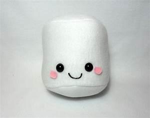 Cute Marshmallow Plush -MADE TO ORDER- | Marshmallows ...