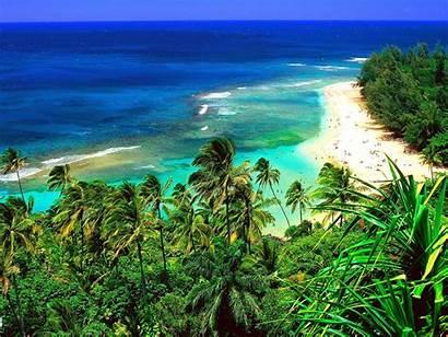 Hawaii Island Hawaiian Beach Wallpapers Islands Country