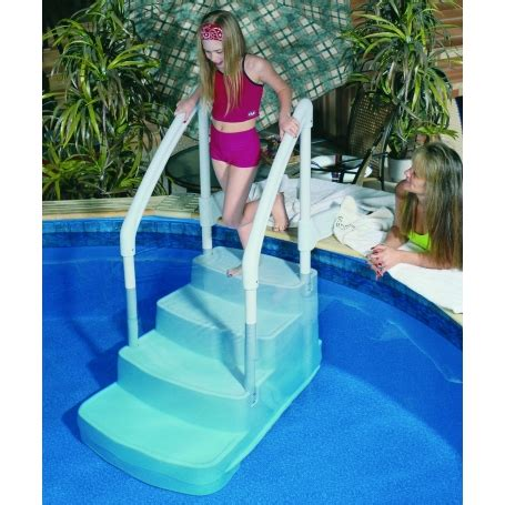 pour piscine escalier pour piscine