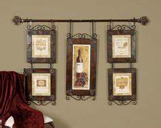 1000 images about tuscan decorating ideas on pinterest With kitchen cabinets lowes with wine collage wall art