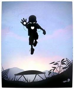 The Imaginative Superhero Silhouettes of Children - Vamers