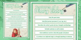 diary entry grade   grade  writing examples samples