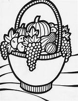 Fruit Coloring Basket Colouring Colour Drawing Flower Bowl Boys Printable Drawings Clipart Sheets Getcolorings Preschool Kindergarten Coloursdrawingwallpaper Colours Colorings Popular sketch template