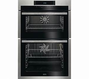 AEG SurroundCook DCE731110M Electric Double Oven ...