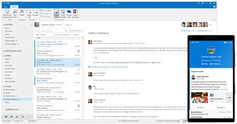 Office 365 Outlook New Features by Introducing Office 365 Groups In Outlook 2016 Le Caf 233