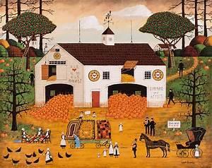 Owl Nest Farm Painting by Joseph Holodook