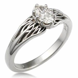 tree of life engagement ring With tree of life wedding ring