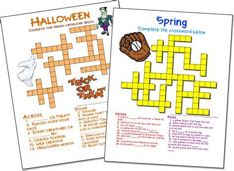 crossword puzzle maker world famous from the teacher s corner