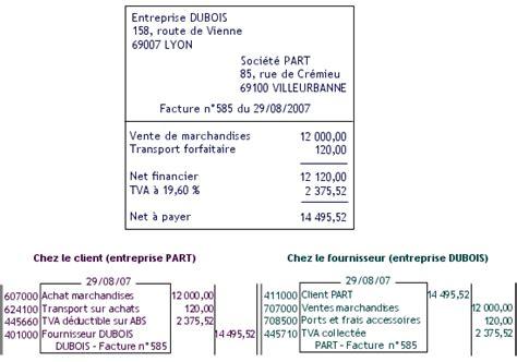 cours de comptabilit 233 et finance des entreprises terminale stmg les factures de doit