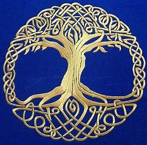 Advanced Embroidery Designs - Celtic Tree of Life ...