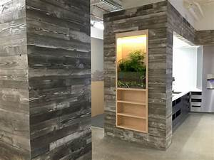 Adding a Reclaimed Wood Wall - Sustainable Lumber Company