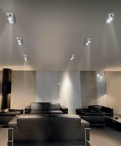 Spot Plafond Salon : spot led encastrable meuble cuisine 10 indogate faux ~ Edinachiropracticcenter.com Idées de Décoration