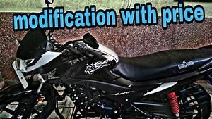 Honda Livo Black Bike Stickers