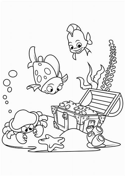 Coloring Pages Printable Treasure Hunt