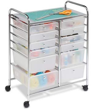 Storage Cart With Drawers And Wheels by Best And Craft Storage Carts On Wheels