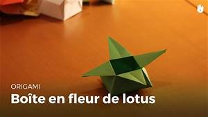 Comment Faire Une Boite En Origami : origami bo te en forme de fleur de lotus hd youtube ~ Dallasstarsshop.com Idées de Décoration