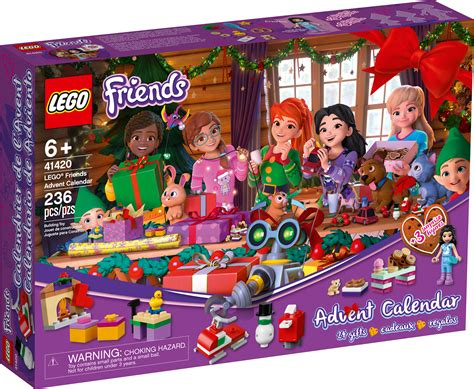 Calendrier Lego Friends 2021   Calendrier Apr 2021