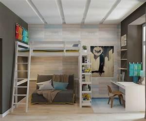 Jugendzimmer Mit Hochbett Gestalten : design hochbett f r das moderne kinderzimmer ~ Bigdaddyawards.com Haus und Dekorationen