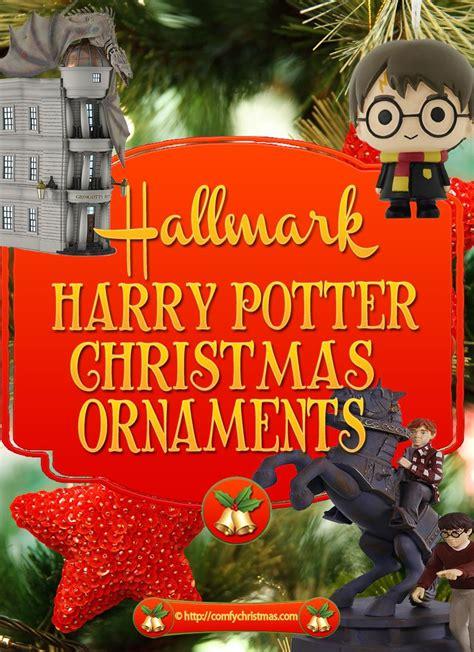 hallmark harry potter christmas ornaments comfy christmas
