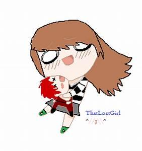 Gaara Plushie epic chibi hug by ThatLostGirl