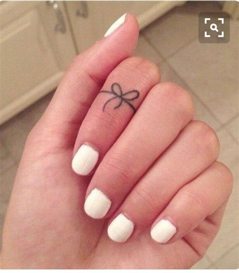bow finger tattoo tattoo love finger tattoos bow