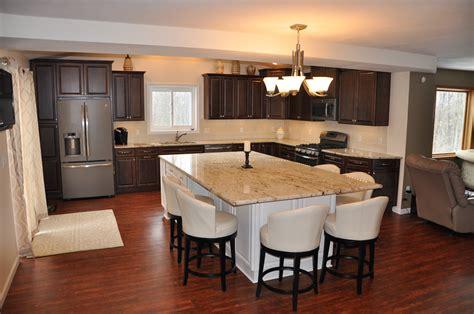 kitchen countertops island ny granite countertop island colonial new hartford ny 7902