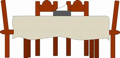 Table Clip Dining Dinner Clipart Clipartpanda Vector