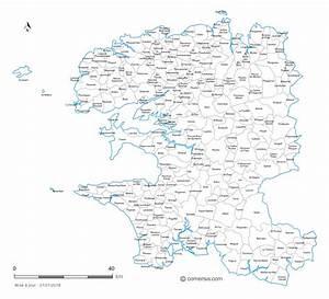 Liste Des Villes Du Nord : carte communes du finist re 29 ~ Medecine-chirurgie-esthetiques.com Avis de Voitures