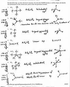 Chemistry Worksheet Lewis Dot Structures  U2014 Db