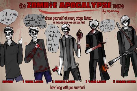 Zombie Apocalypse Meme - zombie apocalypse meme zombie apocalypse meme by starwarssith