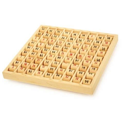 table de multiplication en bois la f 233 e du jouet jeu