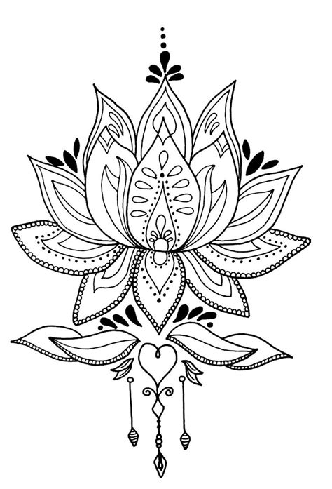 Pin on Drawing | Lotus flower mandala, Flower mandala, Flower drawing