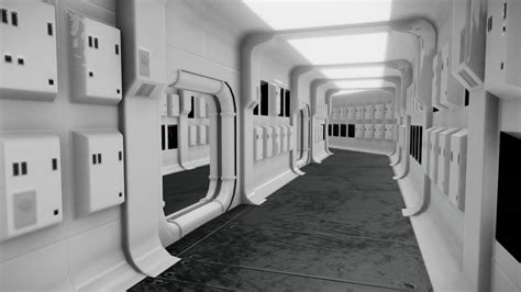 tantive iv corridor star wars  model  max