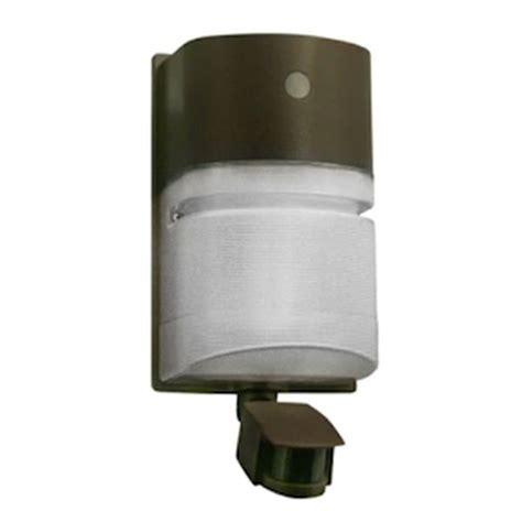 motion sensor for fluorescent lights hubbell 01932 42 watt 120 volt bronze cfl wall pack with
