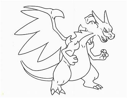 Pokemon Coloring Pages Mega Rayquaza Legendary Cool