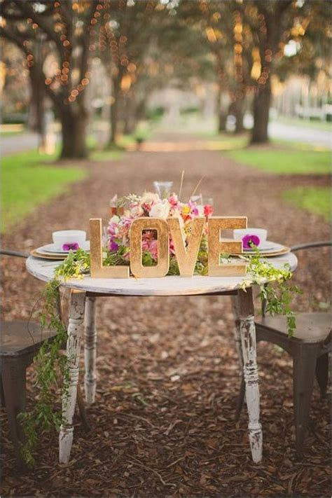awesome love letters wedding decor ideas deer pearl