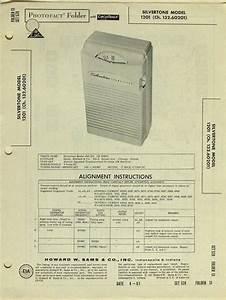 Silvertone Model 1201 Transistor Radio Sams Photofact