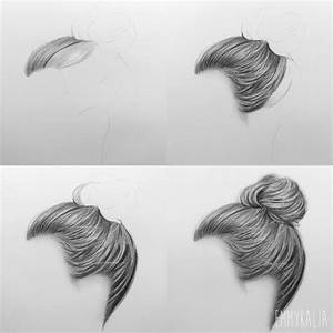 Drawing Hair Step By Step How To Draw A Braid Stepstep ...
