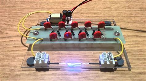 Ccfl Power Supply Cockroft Walton Multiplier Youtube