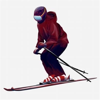 Skier Pngtree